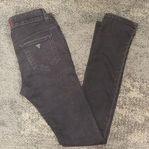 Guess black skinny jeans Sarah fit sz 26
